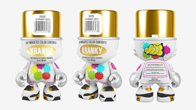 24 Kranky Gold SuperJanky Vinyl Figure by Sket One x Superplastic