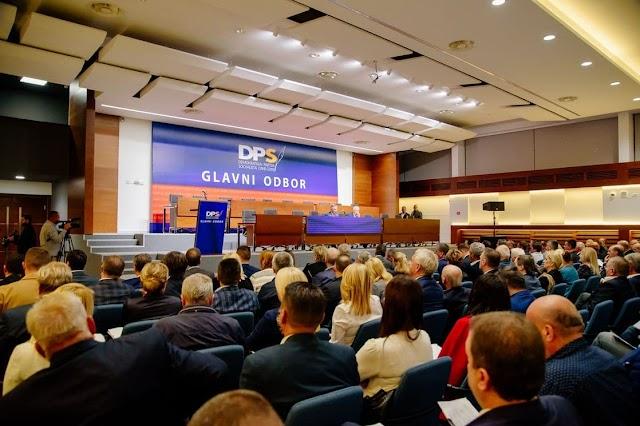 Glavni odbor DPS izabrao Predsjedništvo