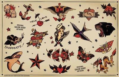 Paginas de tatuajes marina diseños
