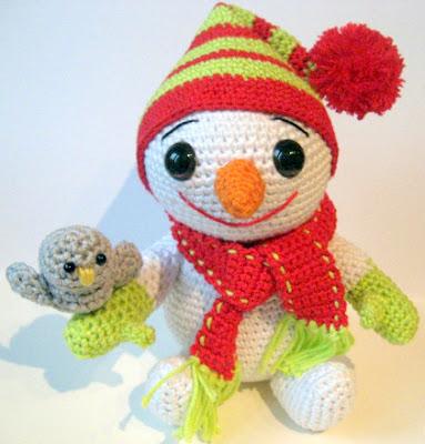 Free Pattern Crochet Amigurumi 10 Crochet Amigurumi Snowman Free ... | 400x383