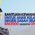 BANTUAN KEWANGAN ON-OFF RM2000 untuk PELAJAR IPT SABAH. Lihat CARA PEMOHONAN DI SINI