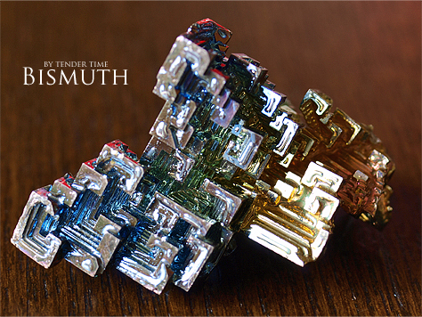 人工ビスマス結晶 Bismuth Germany
