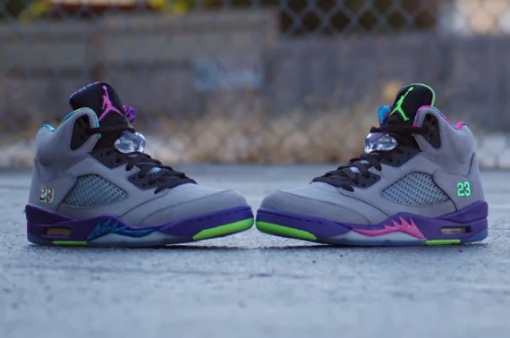 """new style 0ec01 74123 ... but just know that you ll have to hold out for the  Go Fresh  tee until  early November. So, in the meantime, break out your new Air Jordan 5 """"Bel- Air"""""""