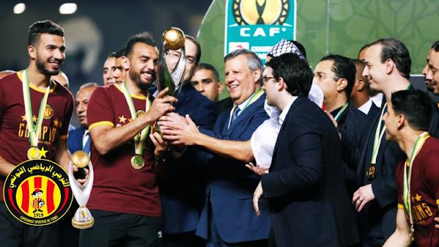 """رسمي : الإتحاد الإفريقي """"الكاف"""" يعلن  الترجي الرياضي التونسي بطل إفريقيا بعد أنسحاب المنافس وتغرم الوداد البيضاوي"""