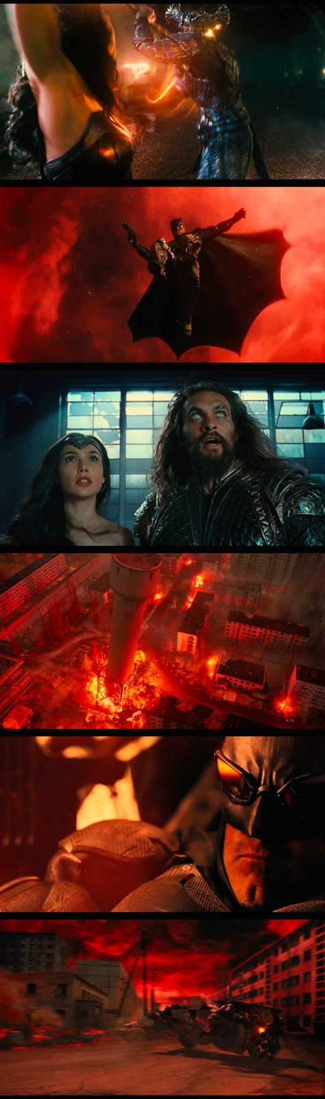 Justice League Comic Con Sneak Peek Screenshots