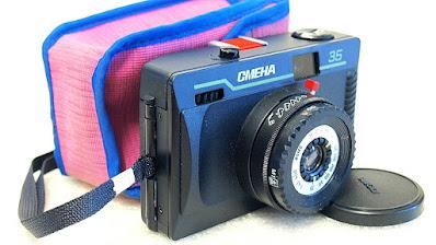 "LOMO Smena 35 (Triplet ""T-43"" 4/40 lens) #007"