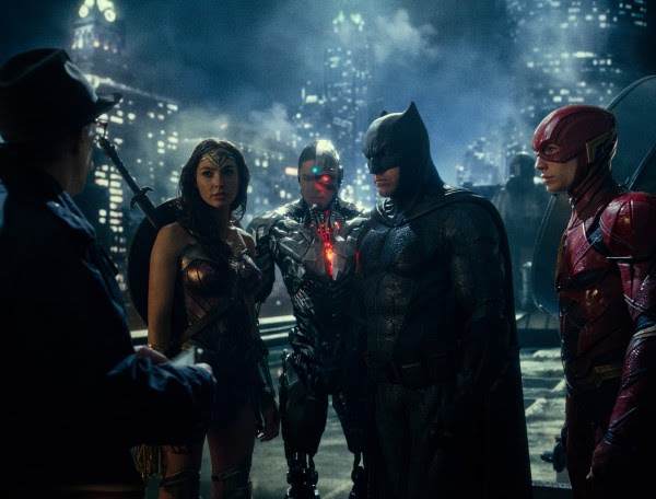 , Justice League Released on DVD and Blu-ray