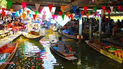 kinh nghiem du lich thai lan - cho noi bangkok