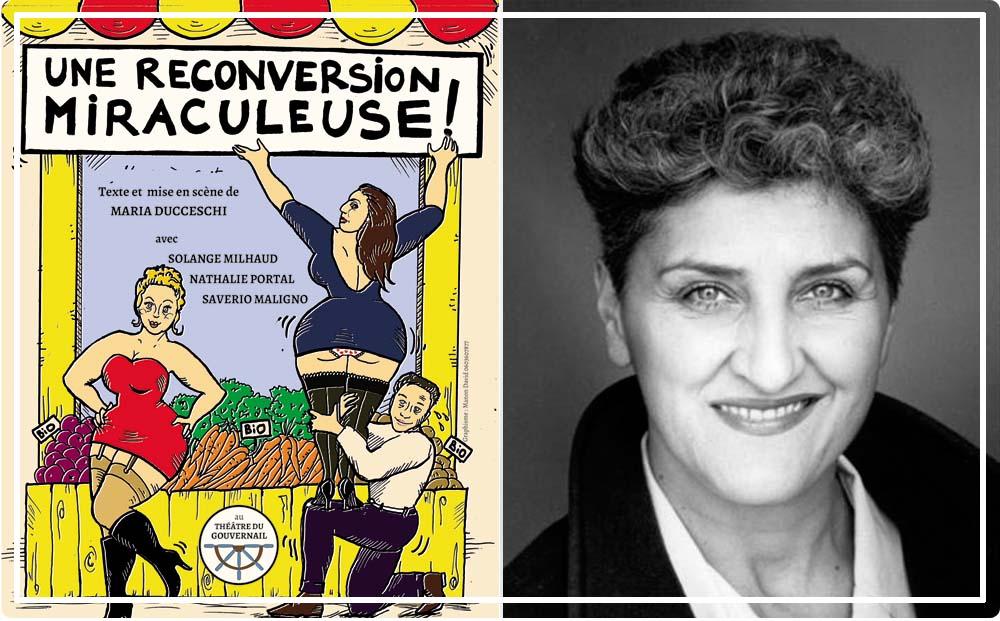 théâtre comique Paris Une reconversion miraculeuse : deux prostituées dans le bio !