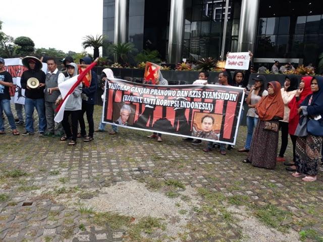 KAKI Desak KPK Panggil Paksa Ganjar Pranowo dan Aziz Terkait Kasus e-KTP