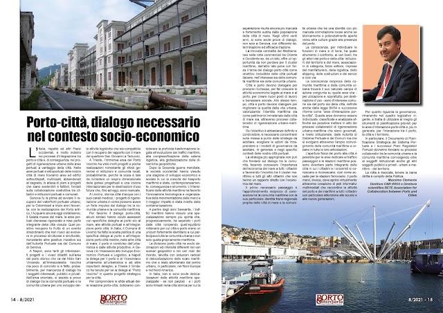 AGOSTO 2021 PAG. 14 - Porto-città, dialogo necessario nel contesto socio-economico
