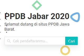 Login ppdb.disdik.jabarprov.go.id, Cek Pengumuman Hasil Seleksi PPDB 2020