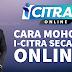 Cara Mohon Pengeluaran i-Citra RM 5,000