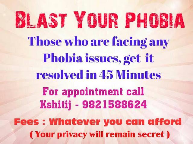 Blast your Phobia - Kshitij Yelkar