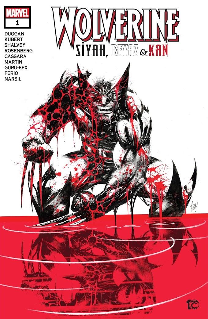 Wolverine: Siyah, Beyaz ve Kan #1 [ÇIKTI!]