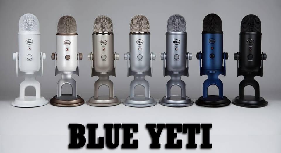 أفضل مايك للتسجيل المنزلي ميكروفون بلو يتي Blue Yeti