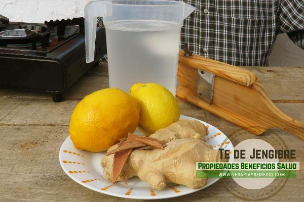 Para la preparación del Té de Jengibre, lo mejor es utilizar la raíz no la especias.