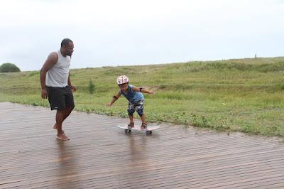 Ilha com novos corredores de lazer e esportes na orla requalificada