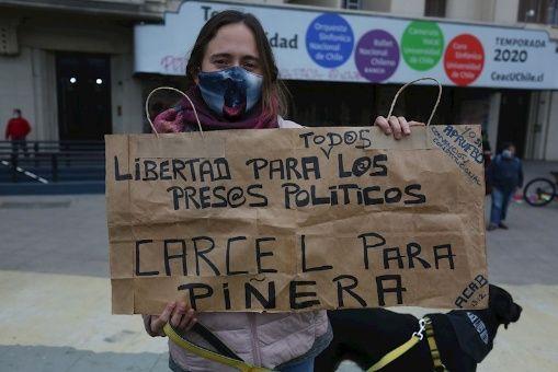 Presentan proyecto de ley en Chile para prohibir uso de perdigones por Carabineros