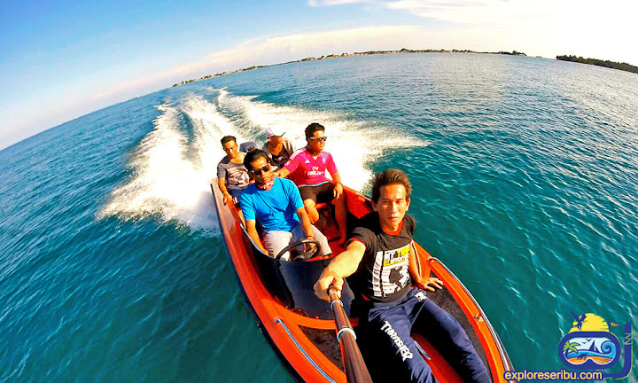 speed boat seribu harapan