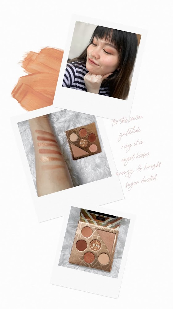 tarte gift & glam collector's set peach shades review