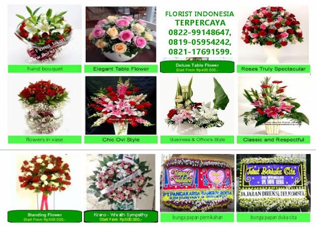 Toko Bunga Terbaik dan Terpercaya di Jakarta