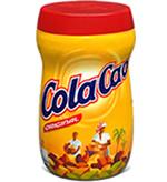 Imagen con el bote amarillo del Cola Cao original en formato actual
