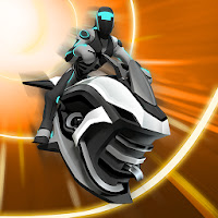 Gravity Rider: Extreme Balance Space Bike Racing Apk Game