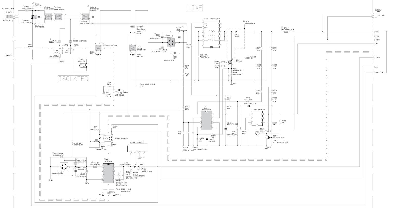 Super Circuit And Wiring Diagram Download Jvc Lt 37A80Su Lt 37A80Zu Power Wiring 101 Mecadwellnesstrialsorg