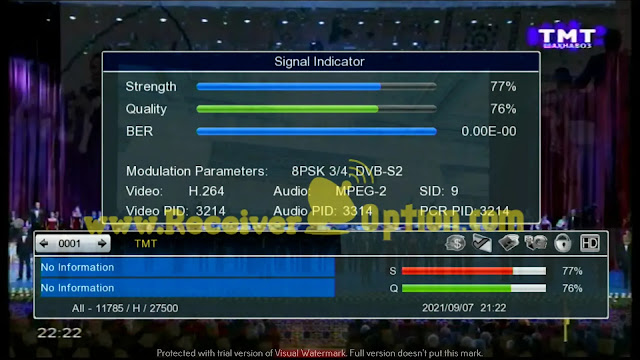 STARSAT GX6605S HW203.00.001 NEW UPDATE 31 AUGUST 2021