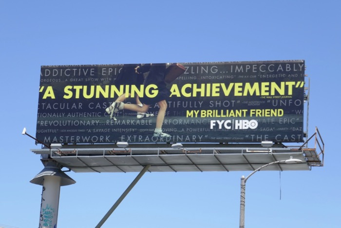 My Brilliant Friend 2019 Emmy FYC billboard