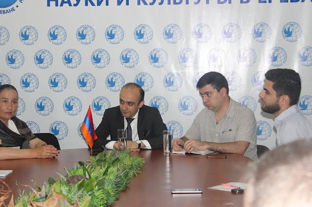 Հանդիպում ՀՀ ԱԺ պատգամավոր Տարոն Սիմոնյանի հետ