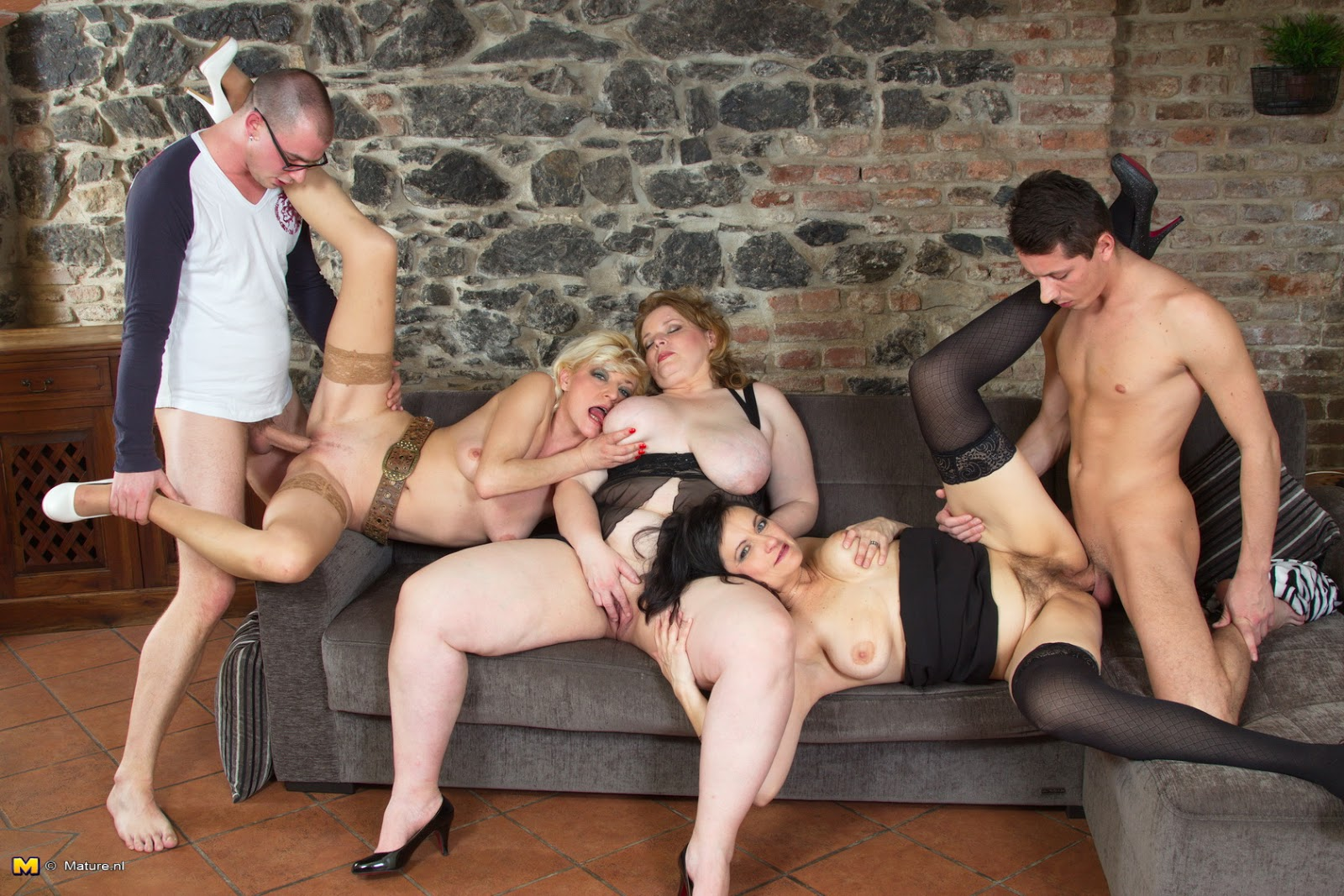 Older Group Sex 97