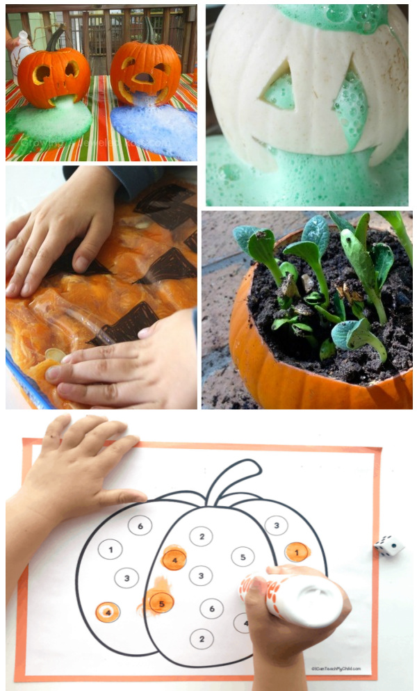 Pumpkin crafts, activities, and games for kids. #pumpkin #pumpkincrafts #pumpkinactivitiesforkids #fallkidscrafts #growingajeweledrose