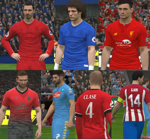 PES 2017 Full Kits Update v3 by Ggblues