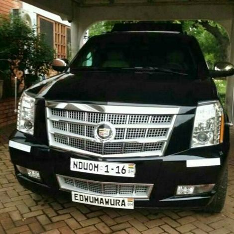 Kwesi Nduom Unleashes A Customized Cadillac Escalade (PHOTO)