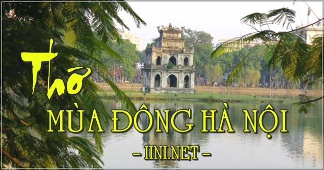 Những bài thơ hay nói về Mùa Đông ở Hà Nội với sự cô đơn, buồn
