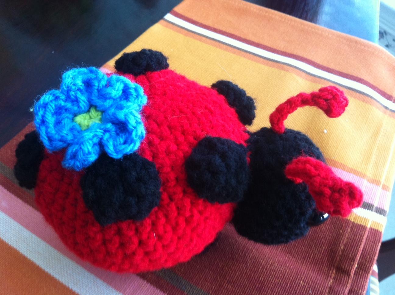 Lovely Ladybug - Little Black Marker
