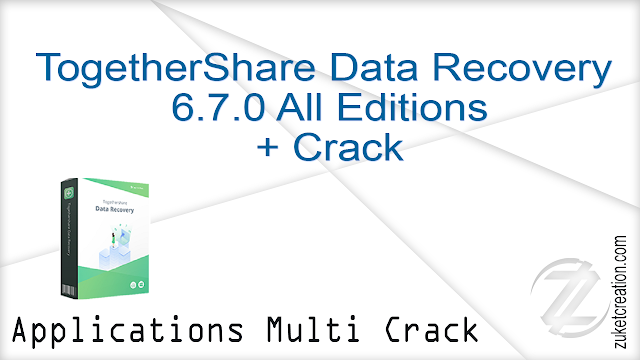 TogetherShare Data Recovery 6.7.0 All Editions + Crack  |  23 MB