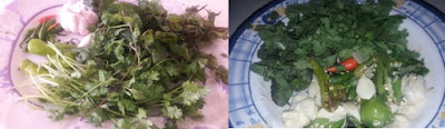 put-coriander-and-mints-leaves-into-the-grinding-jug