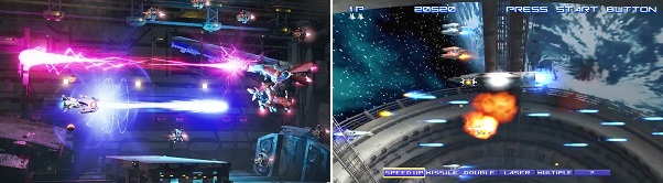 Differences of R-Type Final 2 vs R-Type Final