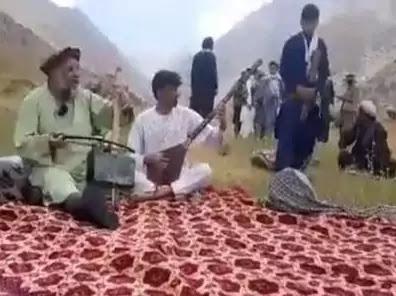 The Taliban shot the folk artist in the head