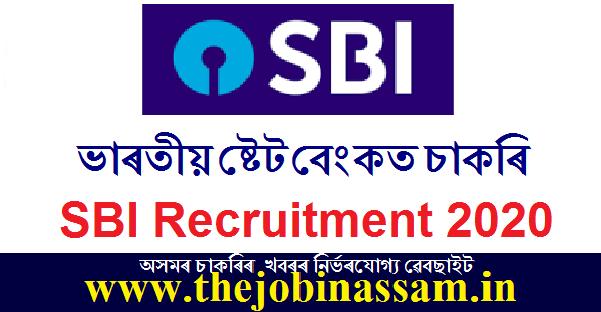 SBI Recruitment 2020