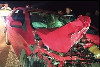Pastor morre após colisão entre três carros e uma motocicleta em rodovia da Paraíba