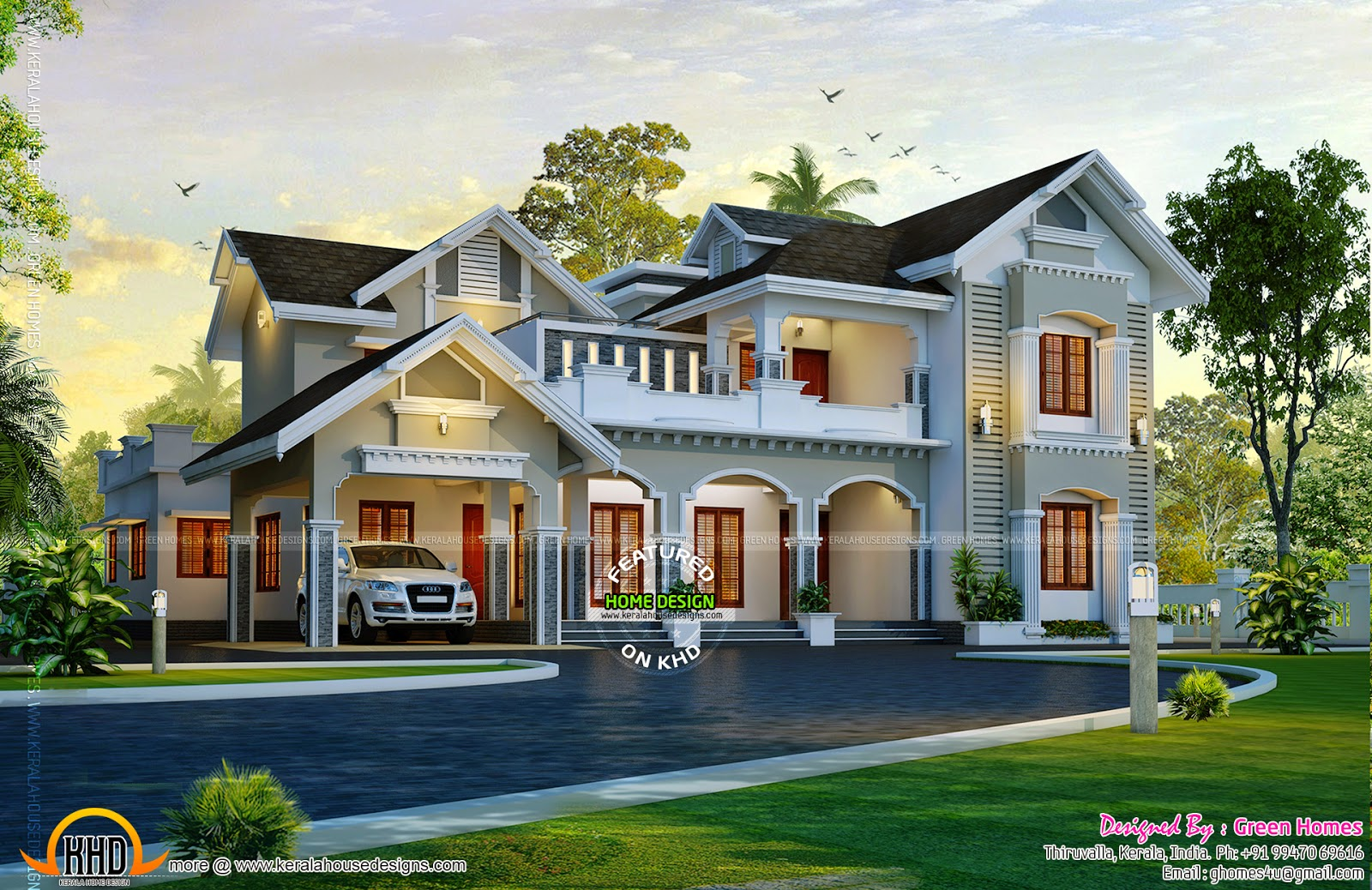 August 2014 kerala home design and floor plans for Kerala house plans 2014