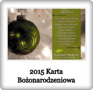 2015 Karta Bożonarodzeniowa