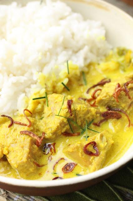 curry indonésien sans piment