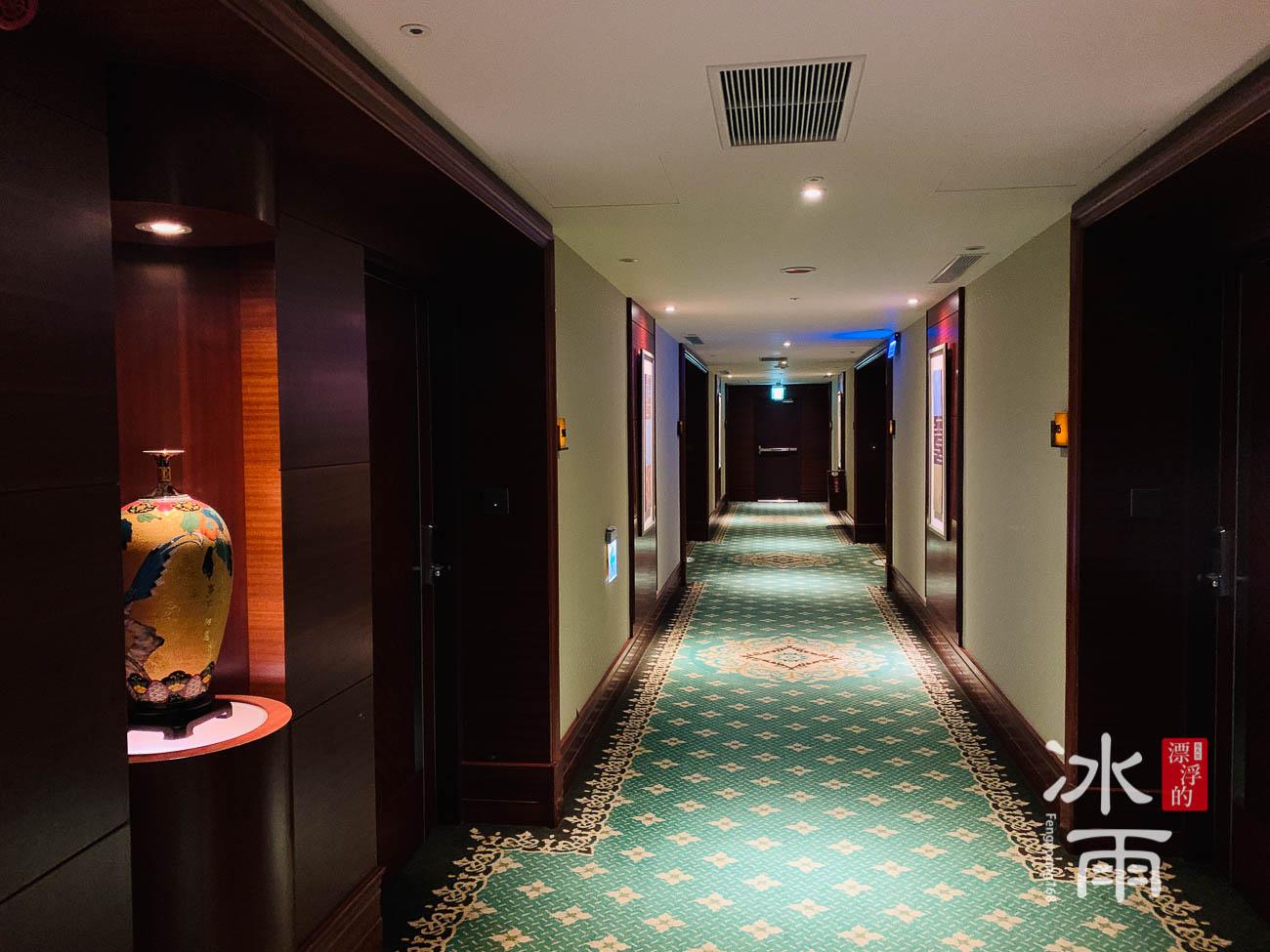 首都大飯店|客房外走廊