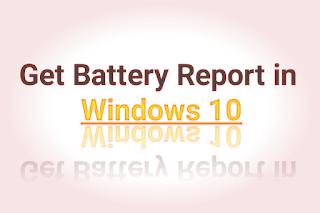 Windows 10 me battery report kaise dekhe