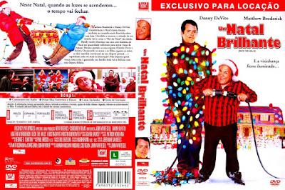 Filme Um Natal Brilhante DVD Capa